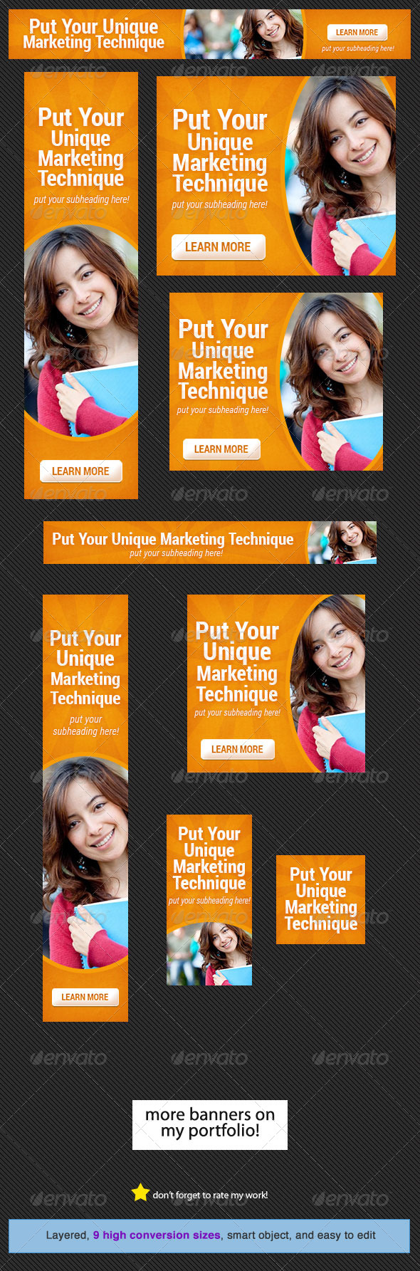 GraphicRiver Corporate Web Banner Design Template 13 4567046