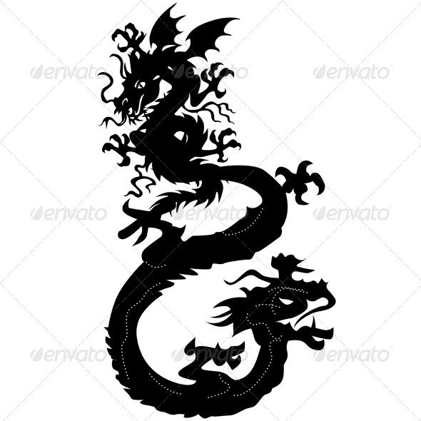 GraphicRiver Dragons 4374511