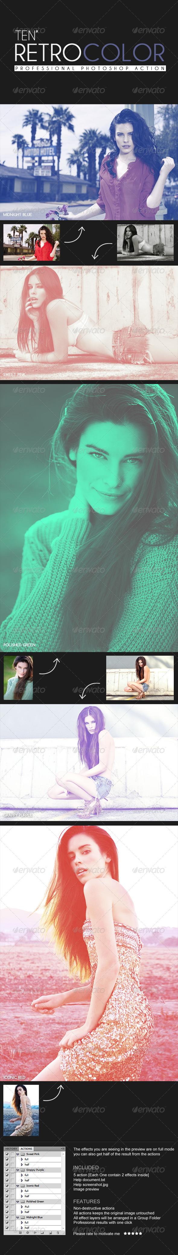 GraphicRiver Retro Color Tone 4567608