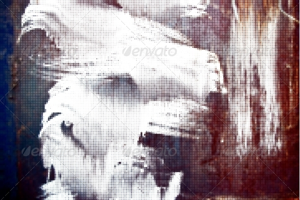 GraphicRiver Iron Grunge Halftone Background 4567661