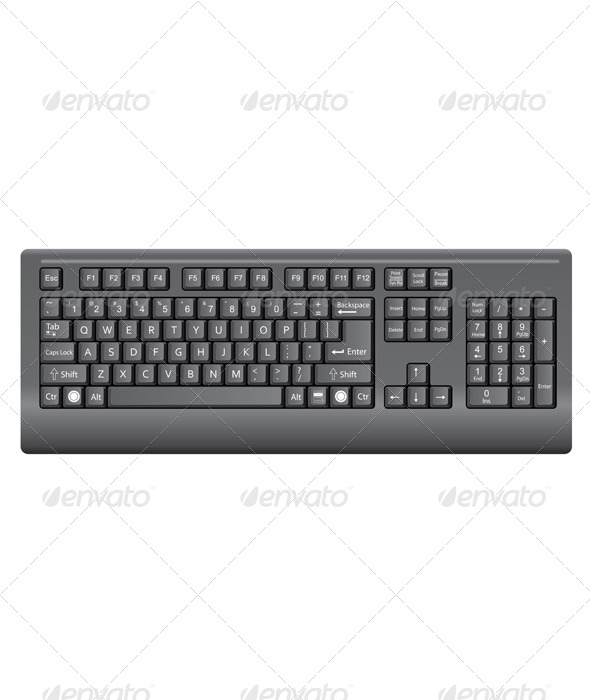 GraphicRiver Keyboard 4567977