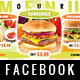 Fast Food Facebook Timeline Cover - GraphicRiver Item for Sale