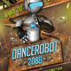 Dancerobot Party Flyer Template - GraphicRiver Item for Sale