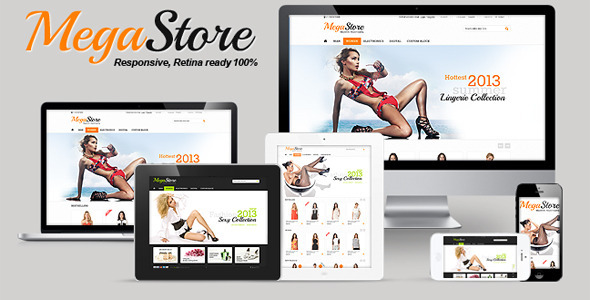 ThemeForest MegaStore Responsive Retina Powerful Settings 4569196