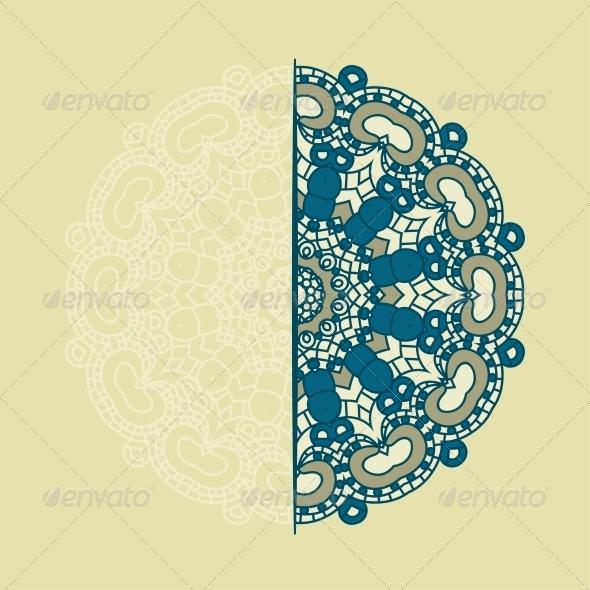 GraphicRiver Vector Round Decorative Design Element 4569407