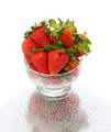 Strawberries in Glass Bowl - PhotoDune Item for Sale