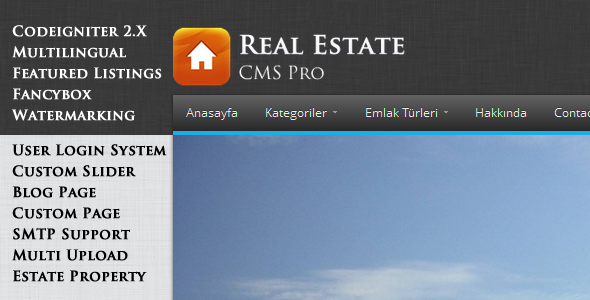 CodeCanyon Real Estate CMS Pro 4543938
