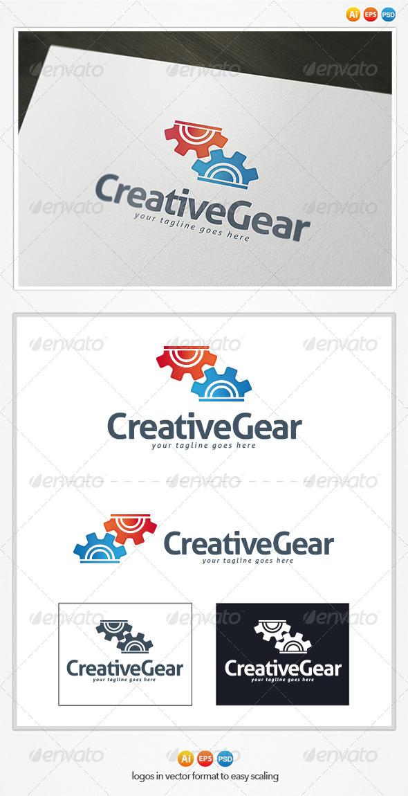 Creative Gear Logo - Symbols Logo Templates