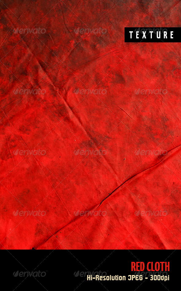 GraphicRiver Red Cloth 4570090