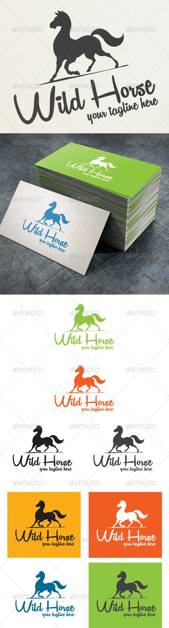 GraphicRiver Wild horse 4570161