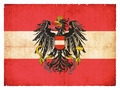 Grunge flag of Austria with Coat of Arms - PhotoDune Item for Sale