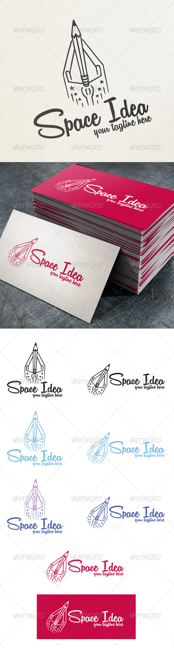 GraphicRiver Space Idea 4570313
