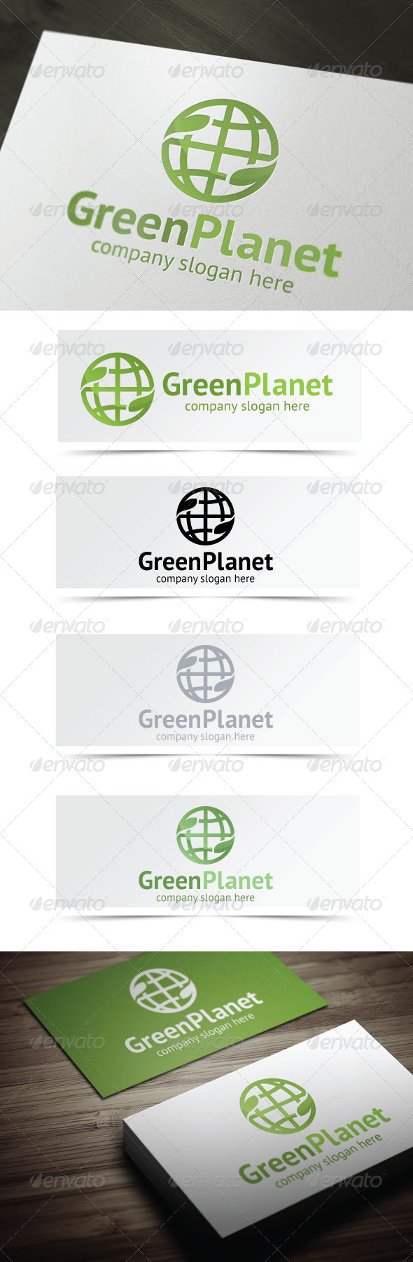 GraphicRiver Green Planet 4570451