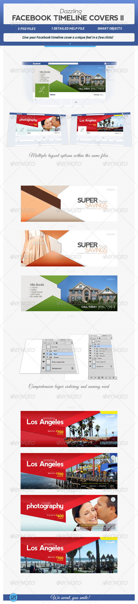 GraphicRiver Dazzling Facebook Timeline Covers II 4570717