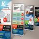 Premium Web Hosting Roll-up Banners - GraphicRiver Item for Sale