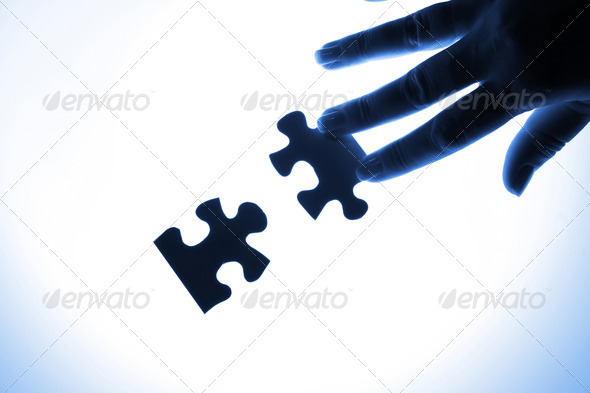 Puzzle pieces - Stock Photo - Images