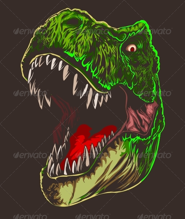 GraphicRiver T-Rex Head 4571253