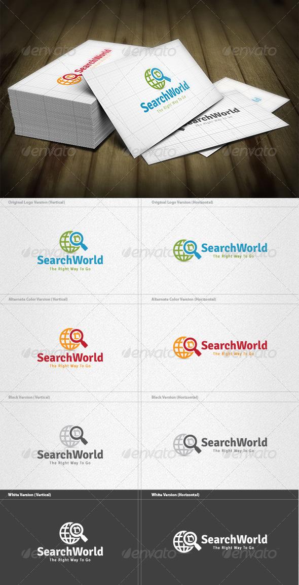 GraphicRiver Search World Logo 4571255