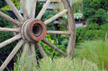 Old wagon wheel - PhotoDune Item for Sale