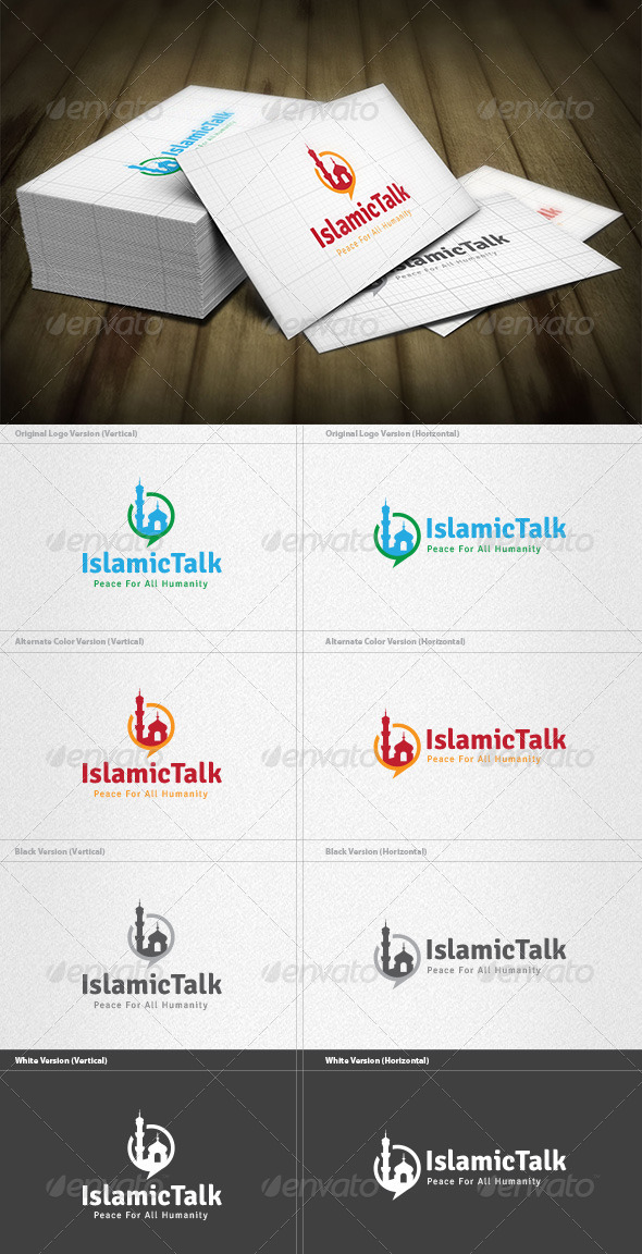 Islamic Talk Logo - Symbols Logo Templates