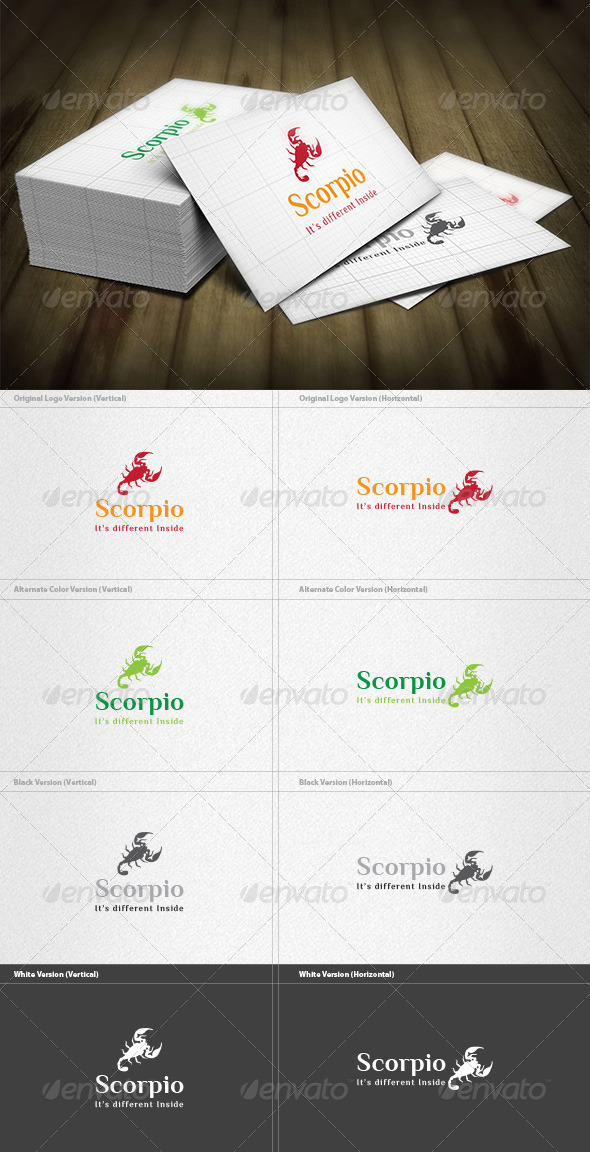 Scorpio Logo - Animals Logo Templates