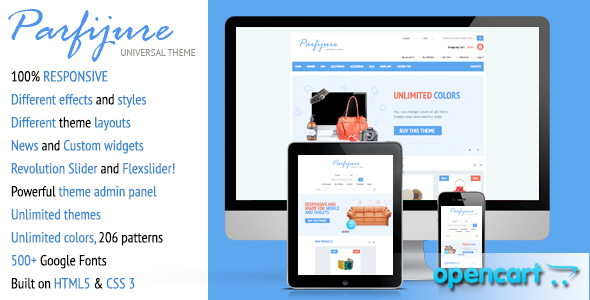 Download Parfijure – Responsive OpenCart theme! nulled download