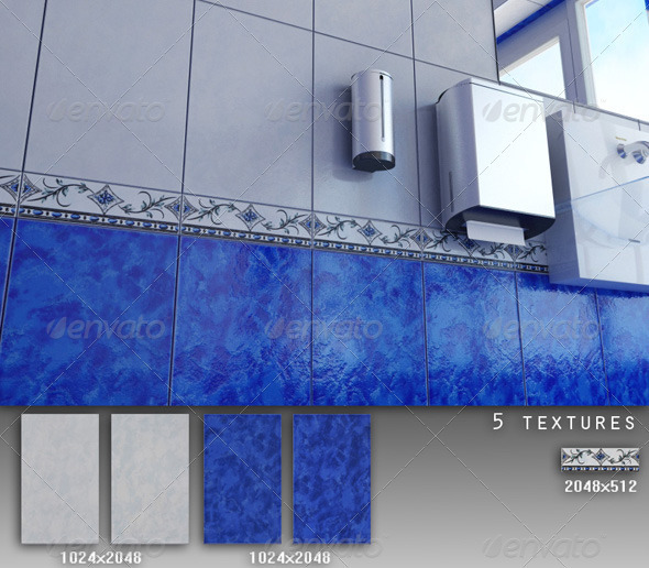 3DOcean Professional Ceramic Tile Collection C017 479611