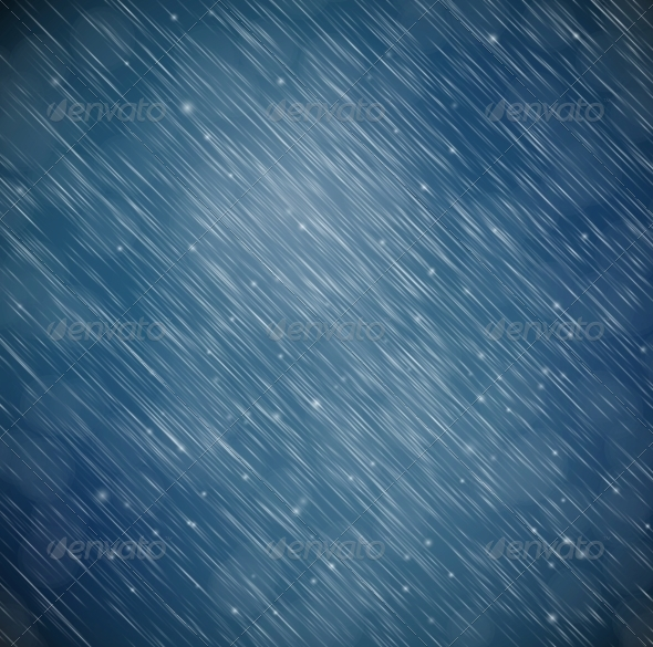 GraphicRiver Background with Rain 4572902