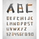 Alphabet from Paper - GraphicRiver Item for Sale