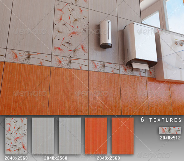 3DOcean Professional Ceramic Tile Collection C018 479628