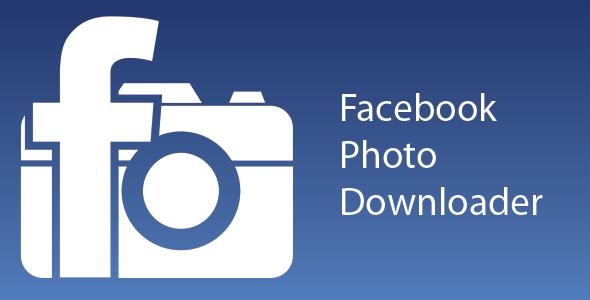 CodeCanyon Facebook Photo Downloader 4562195