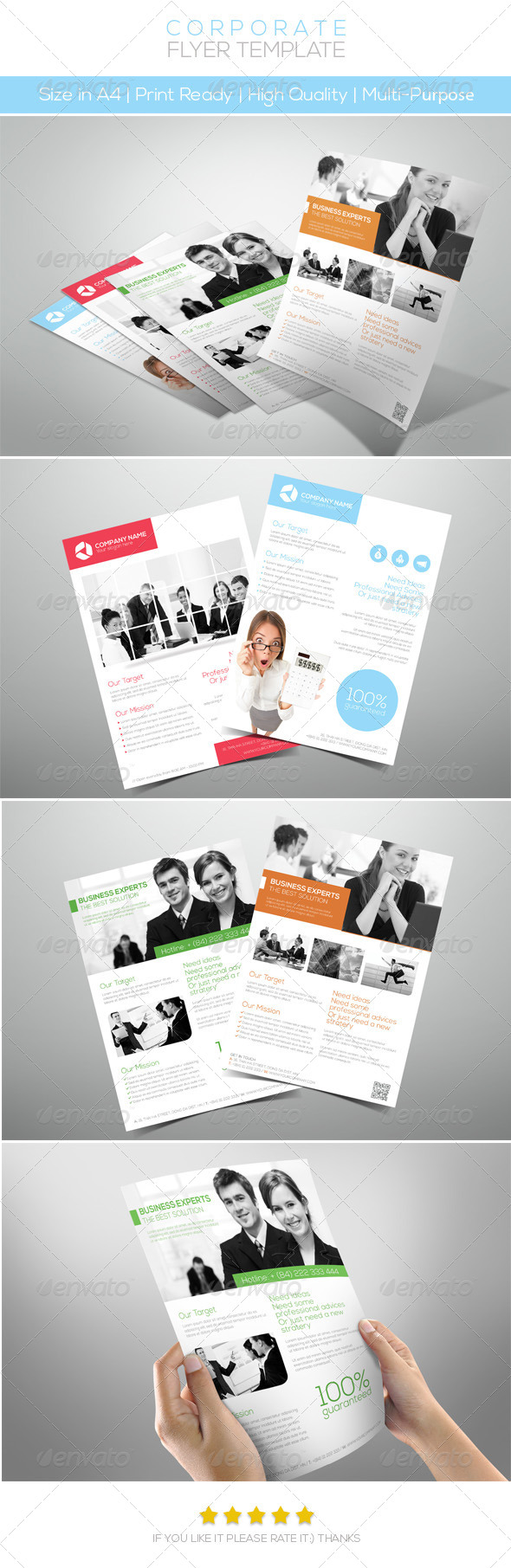 GraphicRiver Premium Corporate Flyers 4573190