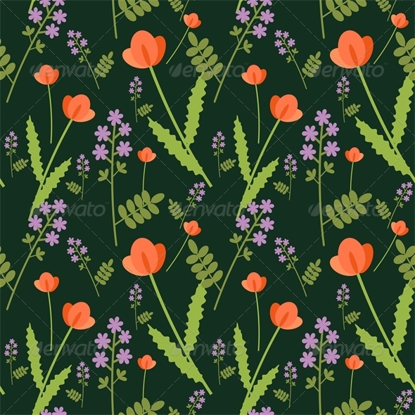 GraphicRiver Floral Pattern 4573363