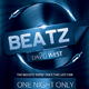 Beatz - Flyer/Poster Template - GraphicRiver Item for Sale