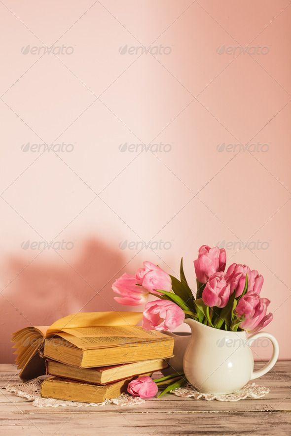 Poem still life - Stock Photo - Images