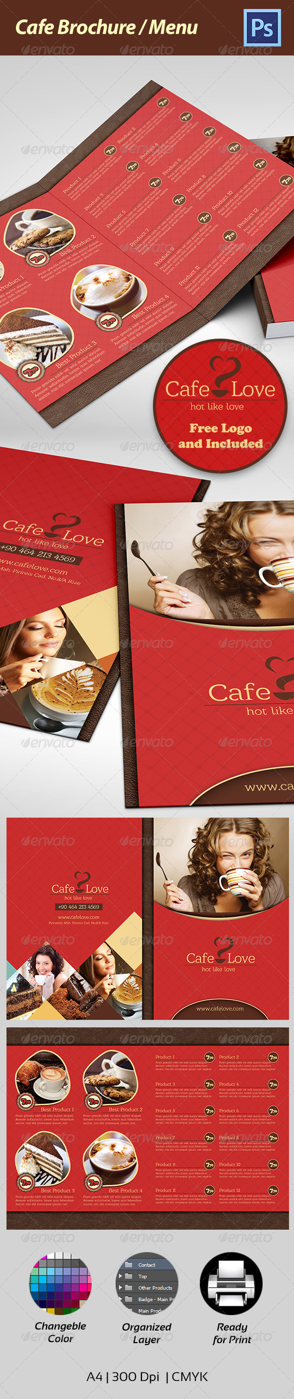 Coffee Brochure Menu