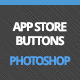App Store Buttons 3D - GraphicRiver Item for Sale