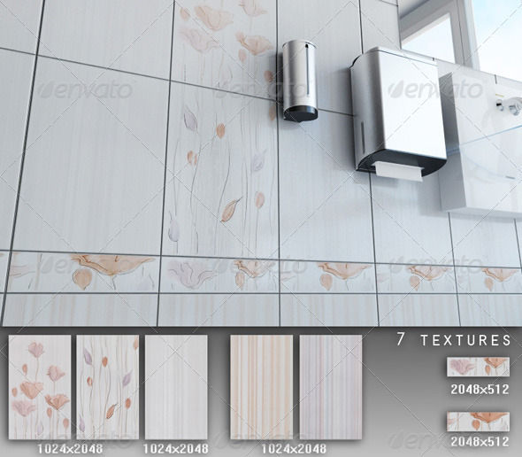 3DOcean Professional Ceramic Tile Collection C023 479675
