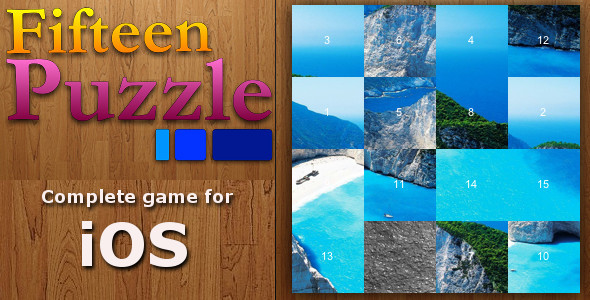 CodeCanyon Fifteen Puzzle Game 4565668