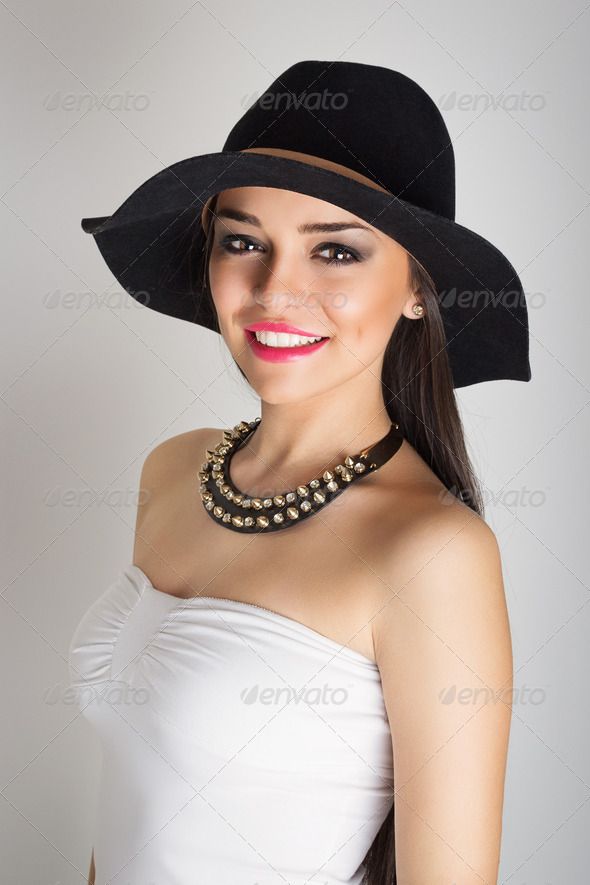 Summer glamour - Stock Photo - Images