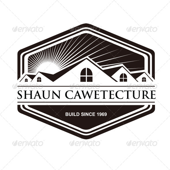 Architecture Vintage Logo Cawetecture