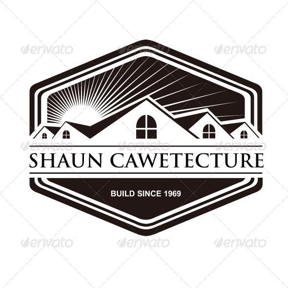 Architecture Vintage Logo Cawetecture