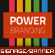 Corporate Roll-up Banner - Motion Stripe - GraphicRiver Item for Sale