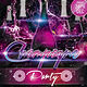 Champagne Party Flyer - GraphicRiver Item for Sale