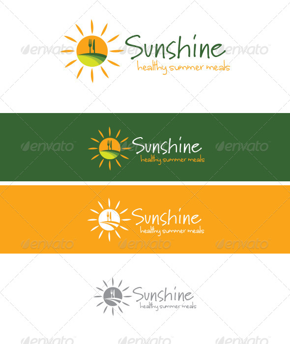 GraphicRiver Sunshine Healthy Meals 4540579