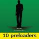 10 Silhouette Preloaders - ActiveDen Item for Sale