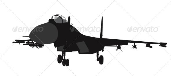 GraphicRiver Military Aircraft 4576676