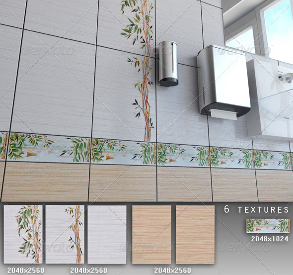 3DOcean Professional Ceramic Tile Collection C026 479699