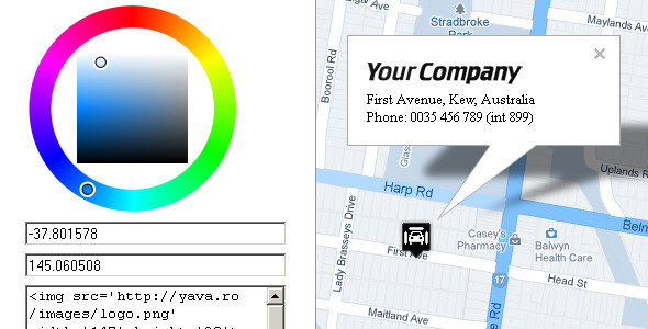 CodeCanyon Responsive Styled Google Maps Generator 4576830