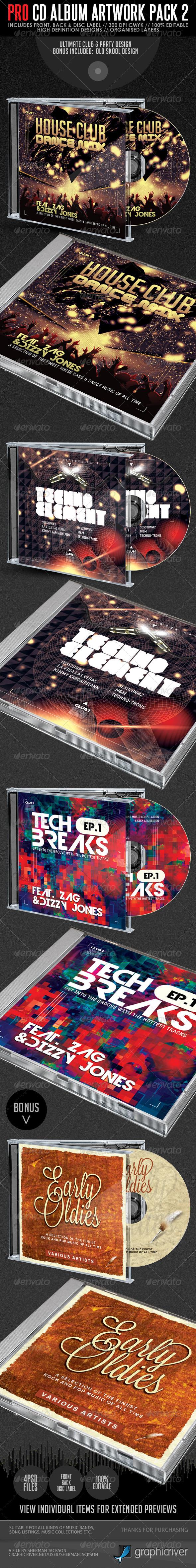 GraphicRiver Pro CD Artwork Bundle Package V.2 4576882